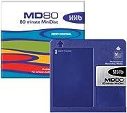 HHB MD80 80分钟迷你光盘(5 个装)