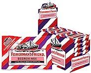 Exklusiv - Fisherman's Friend Beeren Mix  Karton mit 24 Beuteln   Wild-fruchtige Aromen verschiedener Beer