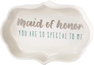 Pavilion Gift Company Maid of Honor:You are So Special to Me 字样三花塞餐具