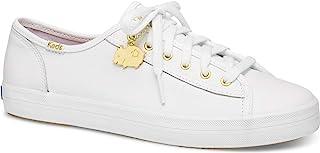 Keds Kickstart CNY 女士皮鞋 白色 6