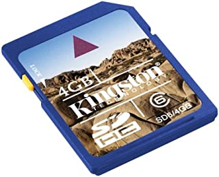 Kingston SDHC Class 6 Flash Memory Card