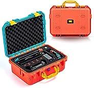 DEVASO 便携包适用于 Nintendo Switch 旅行包,专业豪华防水保护套柔软内衬硬壳适用于 Nintendo Switch 控制台 Pro 控制器和配件(红色和蓝色)