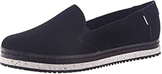 TOMS 女士 Palma 皮革包裹一脚蹬鞋