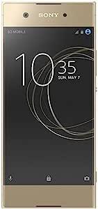 Sony 索尼 Xperia XA1 Factory Unlocked,32GB,23MP,5英寸显示屏,GSM,国际版,无保修 -SNE-G3116-32GB-GLD  金色