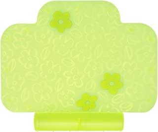 茶壶 餐垫 智能餐具 蓝色大象嵌细工很可爱且放心的硅制品 带食物溢出口袋 黄色