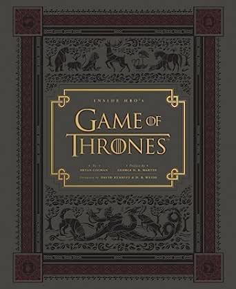英文原版 Inside HBO's Game of Thrones: Seasons 1 & 2