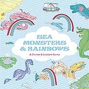 海洋怪物和彩虹:一個斜道和梯子游戲