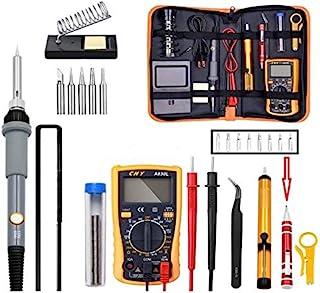19 合 1 110V 60W 电焊铁枪工具套件焊接脱焊泵工具套装