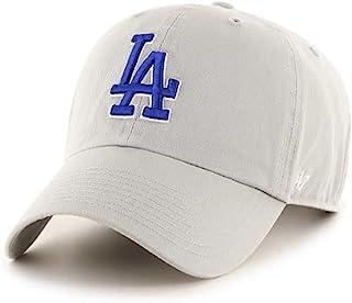 '47 洛杉矶道奇队灰色蓝色可调节帽子,成人均码