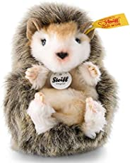 Steiff USA JOGGI 棕色刺猬宝宝毛绒玩具,3.9 英寸 x 2.4 英寸 x 2.7 英寸 - 珍贵的传家宝收藏品