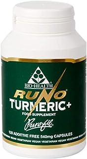 Bio Health Runo 姜黄,红豆和黑胡椒胶囊,120粒