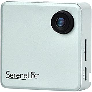 SereneLife Clip On Wearable Camera 1080P Full HD With Built-in Wi-Fi