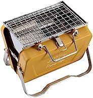 CAPTAIN STAG Monte系列 烧烤炉 带烤架 V型 桌上型烧烤架 B6型 UG-78/UG-79/UG-80/UG-81