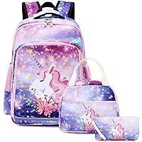 BLUBOON 帆布书包 学生背包 笔记本电脑书包 适合少女高中