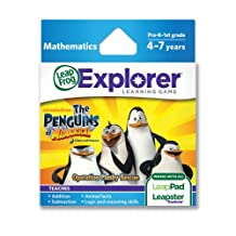 LeapFrog马达加斯加企鹅:行动毛绒救援学习游戏(与 LeapPad 平板电脑和 LeapsterGS 配套使用)