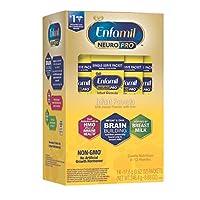 Mead Johnson 美贊臣 NeuroPro 嬰兒配方奶粉,MFGM、歐米茄3 DHA、益生菌、鐵和提高免疫力,0.6盎司/17.6克,14包裝