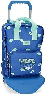 Pepe Jeans Ruth 蓝色 30x40x13 cms