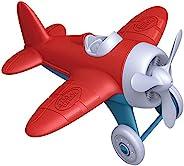 Green Toys 玩具飞机——不含双酚A,邻苯二甲酸盐,红色航空玩具飞机,提高儿童的航空知识的玩具游戏
