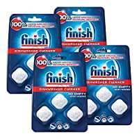 Finish 洗碗机清洁剂:清洁隐藏的油脂和污垢,12件
