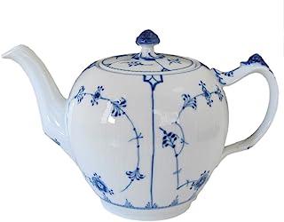 Royal Copenhagen Blue Fluted Plain LG 茶壶,8杯