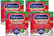 Mead Johnson 美贊臣 Enfagrow優質 歐米茄3 DHA益生元(Formerly 幼兒Next Step)幼兒營養奶粉,1-3歲,香草味,24盎司/ 約680.39克罐裝(4罐) 來源于Enfamil的制