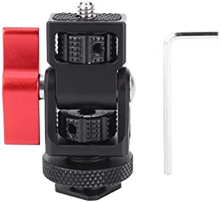 Qiilu 内六角扳手,铝合金红色球头热鞋监控稳定器支架摄像机数码单反相机配件