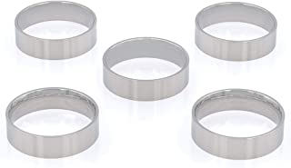 Wapiti Designs 木质转弯环芯(6 毫米不锈钢 - 5 件装,5 个)