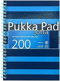 pukka 英國 海軍系列商務創意 易撕取藍色條紋學生A5筆記本 6677-NVY