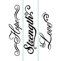Darice 1218-82 Embossing Folder, Inspiration Borders Design, 3-Pack