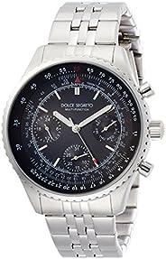 [DOLCE SEGRET]DOLCE SEGRETO 手表 飞行员 黑色表盘 MBR100BK 男士 【正规进口商品】