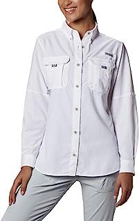 Columbia Sportswear 女士加大码 Bahama 长袖衬衫
