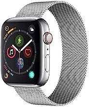Oribox 兼容 Apple Watch 表带 40 毫米 38 毫米,软硅胶运动表带替换腕带,兼容 iWatch Apple Watch 系列 5/4/3/2/1(3 件装,38MM/40MM S/MW6C1WATC