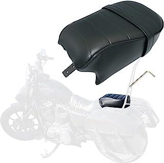Passenger Pillion 坐垫适用于 Harley Davidson 2016-2021 Sportster Iron 883 XL883N 型号,黑色