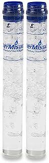 Humidor 加湿器管套装湿度达 70% 湿度(2 件装) 透明 tube DRYST-2PK