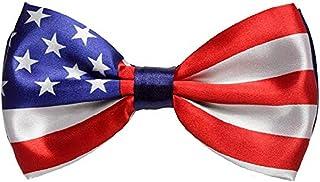 3 件套美国国旗领结 7 月 4 日阵亡将士纪念日派对配件
