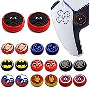 2 件模拟拇指手柄套,Dualsense 无线控制器游戏遥控操纵杆帽,神奇的防滑硅胶抓握保护盖,适用于 PS5/PS4/Xbox one/360/NS PRO