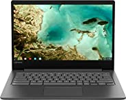 Lenovo Chromebook S330 14 英寸 HD (1366 x 768) 高级笔记本电脑,Mediatek MT8173C 四核处理器,4GB 内存,32GB eMMC SSD,相机,WiFi,蓝牙,Ch