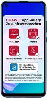 Huawei 华为 P40 lite E 双卡智能手机(16.23cm(6.39英寸),64GB ROM,4GB RAM,Android 9 AOSP 无Google Play商店,EMUI 9.1.1),极光蓝