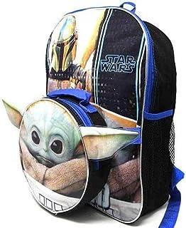 "Star Wars""The Child""Baby Yoda 16 英寸背包,带形状午餐袋"
