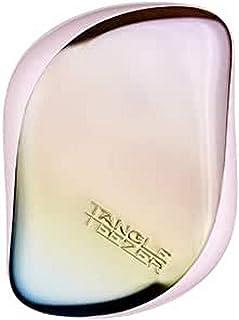 Tangle Teezer 小巧造型梳顺发梳,珠光哑光铬