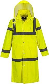 Portwest Hi-Vis 经典雨衣 48 Viz *可视工作雨衣 ANSI 3