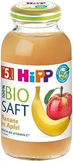 HiPP 喜宝 Bio 婴儿果汁 适用于4月以上婴儿 香蕉/苹果味,6瓶装(6 x 200ml)