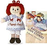 Raggedy Ann 12 英寸(约 30.5 厘米)经典玩偶书集(雷吉迪安故事套装)