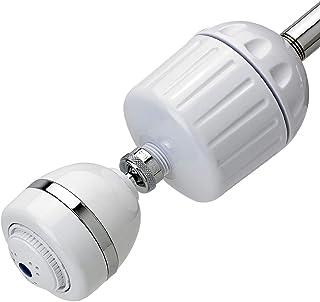 sprite ho2-wh-m 通用淋浴过滤器和 3 种设置淋浴头,白色 sprite