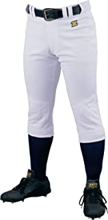 ZETT 少年棒球 制服 机械裤 青少年的膝盖衬裤 白色(1100) BU2282NP