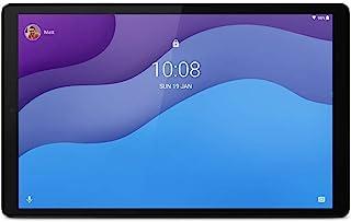 Lenovo 联想 Tab M10 HD (2nd Gen) 平板电脑,显示屏 10.1 英寸 HD,MediaTek Helio P22T 处理器,32 GB 内存,WiFi+LTE,2 个扬声器,Android Q,铁灰色