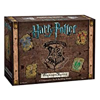 USAopoly 霍格沃茨戰斗合作紙牌游戲 哈利波特官方授權商品 棋盤游戲 給哈利波特迷的絕佳禮物 哈利波特電影藝術品