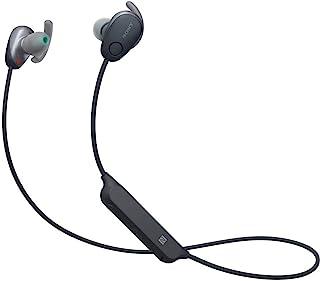 Sony 索尼 WI-SP600N 黑色高级防水蓝牙无线超低音运动入耳式耳机/麦克风(国际版)
