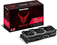 PowerColor 红魔 AMD Radeon RX 5700 XT 8GB AXRX 5700XT 8GBD6-3DHE / OC 搭载显卡