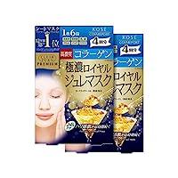【日本亞馬遜限定】KOSE 高絲 Clear Turn Premium 皇家果凍面膜 (骨膠原) 4回量 2包 附贈品